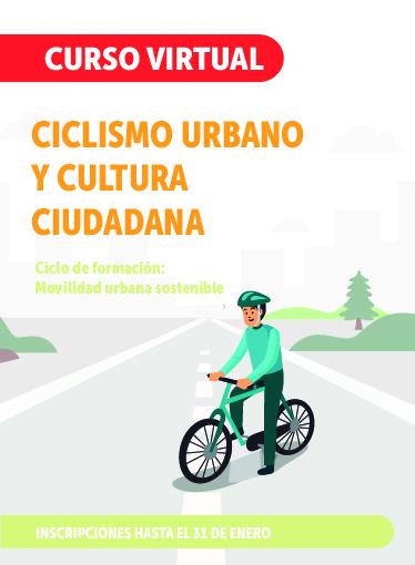 Imagen curso Ciclismo Urbano y Cultura Ciudadana