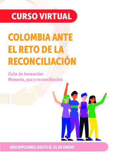 Imagen del curso de Colombia ante el reto de la reconciliación