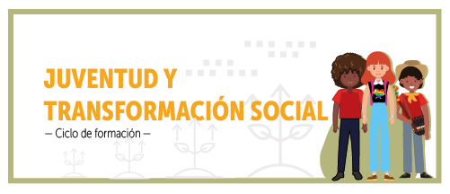 botón banner del ciclo de formación: juventud y transformación social