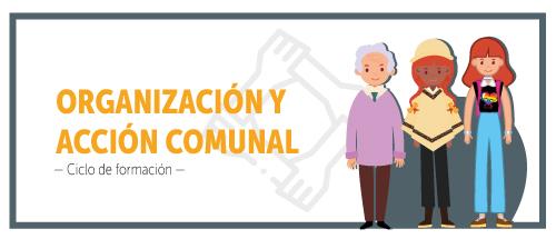 Boton banner del cliclo de formación: organización y acción comunal