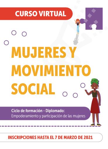 Imagen curso Mujeres y movimiento social