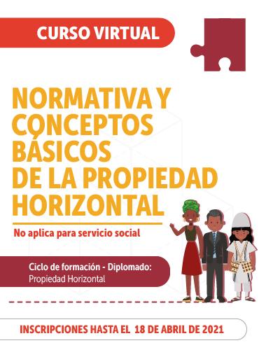 Imagen curso Normativa y conceptos básicos de la Propiedad Horizontal